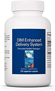 Allergy Research Group - DIM Enhanced Delivery System - Hormone Balance, Men, Women - 120 Vegetarian Capsules