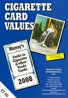 Cigarette Card Values