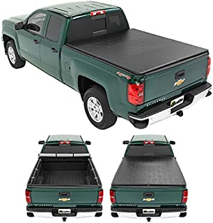 Bestop 1800601 Ziprail Soft Tonneau Cover for 1988-1999 Chevy/Gmc C/K Pickup Sportside, 6.5' Bed (Won't Fit New Body Style)
