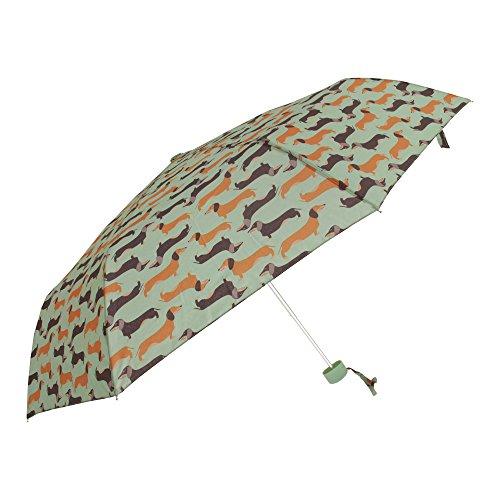 Susino Damen Haustier Muster Kompakt Regenschirm (Einheitsgröße) (Vogel Print)