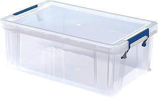 Bankers Box 7730401 ProStore Förvaringsask i Plast, 10 liter 15.5 x 39.5 x 25.5 cm, Genomskinlig