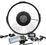 48V1000W Hub Motor Electric Bike Conversion Kit + LCD+ Disc Brake Theebikemotor