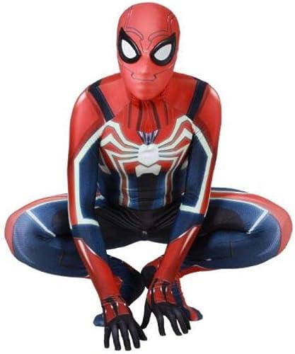Vuelta de 10 dias Velocidad De Impresión 3D Ropa De De De Spiderman Cosplay Medias Siamesas Traje De Disfraces De Halloween Apoyos De La Película Ropa De Alto Rendimiento,XXL  Venta barata