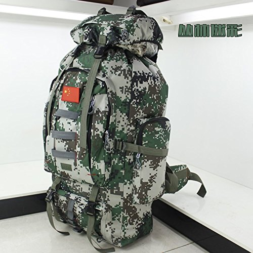 Grand sac à dos sac à dos étanche volume plein air sac à dos camouflage Jungle boy