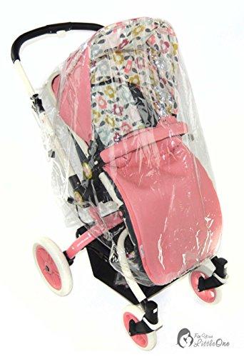 Housse de pluie Compatible avec Babybus Coucher de soleil Poussette