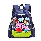 Peppa Pig- George Backpack pour Enfants, Sac à Dos Dessin animé pour Tout-Petit,...