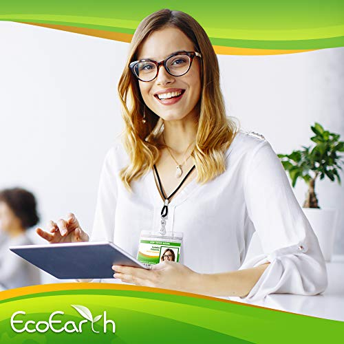 EcoEarth Horizontal Vaccine Card Protector (Sealable 4x3 Inch, 250 Pack), Waterproof ID Holder, ID Card Holder Bulk, Name Badge Holder, Name Tag Holder, Plastic Badge Holder, Clear Card ID Badge Photo #4