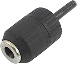 SODIAL(R) 2-13mm Capacidad 1 / 2-20 UNF Montaje Mandril taladro sin llave cana plus SDS Negro