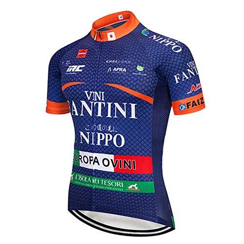 Maglia Ciclismo Squadre Professionisti Asciugatura Rapida Abbigliamento Ciclismo Uomo Estivo Ciclismo Maglie Estiva