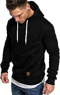 SELENECHEN Herren Sweatshirt Kapuzenpullover Sweatjacke Pullover Hoodie Sweat Hoody Sweatshirt Herren Pullover
