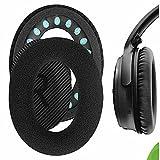 Geekria - Almohadillas de terciopelo para auriculares Bose QuietComfort QC35, QuietComfort QC25, QuietComfort 35 II, QC35 II