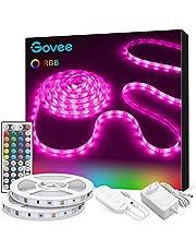 Govee led strip 10m, RGB led strip 2 rollen van 5m, kleur veranderende led strip met IR afstandsbediening, voor verlichting huis, feest, keuken