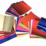 QINGRUI Embalaje 28 unids 15x15cm Art Metal Cutting Dies Paper Scrapbooking Álbum Craft Tarjeta Decoración DIY Craft Papel Square Mirror Origami Decoración de Arte (Color : 28pcs)