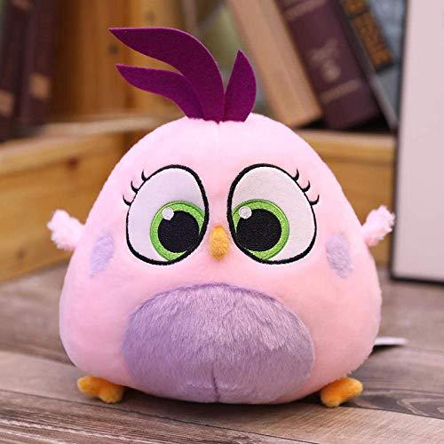 DINGX 10-20Cm Original Angry Cute Birds Peluche de dibujos animados Wenzi Nana Weiwei Zoe Salsa Suave Muñeca de Peluche Encantador Regalo-20Cm_04_ Chuangze