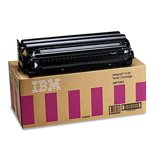 InfoPrint 28P1882 Cartucho 30000páginas Negro tóner y cartucho láser - Tóner para impresoras láser (Negro, IBM InfoPrint 1145/1145dn/1145n, 1 pieza(s), Laser cartridge, 30000 páginas, Laser)