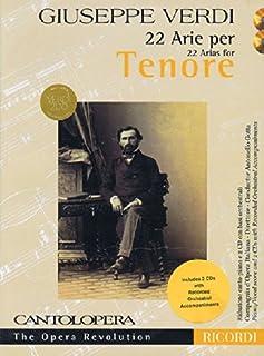 Verdi: 22 Arias for Tenor: Cantolopera Collection