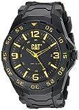 CAT Herren Analog Quarz Uhr mit Gummi Armband LB.111.21.137