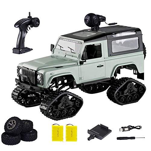 DDT 1:16 Auto Telecomando,4WD Fuoristrada RC Auto con Fotocamera 720P HD FPV Hobby Veicolo Giocattolo,per Bambini 6 Anni+