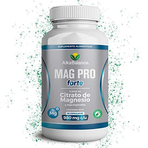 Alka Balance Cápsulas de Citrato de Magnesio - 90 Cápsulas