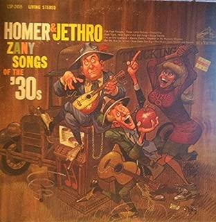 Zany Songs of the '30s
