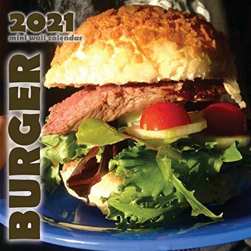 Burger 2021 Mini Wall Calendar