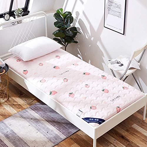 ZLJ Tapete de Tatami futón Plegable Colchón de Tatami Colchoneta para Dormir Suave y Grueso Cojín de colchón para Dormitorio de Estudiantes japoneses E 150x190cm (59x75inch)