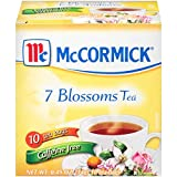McCormick Caffeine Free 7 Blossoms Tea 10 Count Box, 0.49 oz, 12 Boxes