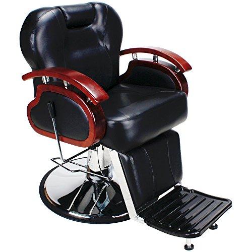 Friseurstuhl Herrenbedienungsstuhl Friseursessel Sessel Friseursalon Friseur Friseursalon Make-up Artist Visagist 205005 schwarz
