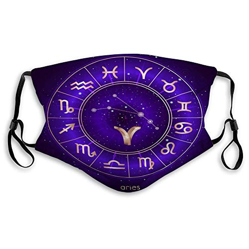 Outdoor Cover Zodiac teken sterrenbeeld Ram Horoscoop Cirkel Heilige Symbolen Sterrenhemel Geometrie