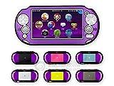 Szjay Metal Aluminum Metallic Protection Hard Case Cover for Playstation Ps Vita 2000 Slim (Purple)