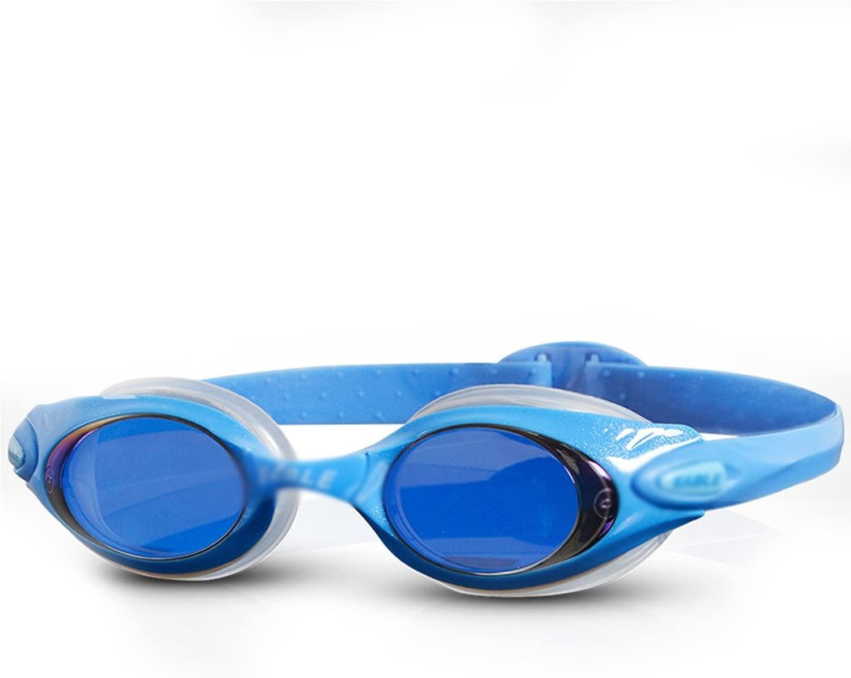 WZ 水泳用ゴーグルHDレディース防水防曇コーティング水泳用具 スイミングフィットネス (Color : A)