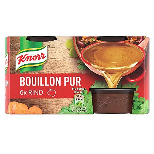 Knorr Bouillon Pur (für den vollmundigen Geschmack Rind), 1er Pack (1 x 168 g)