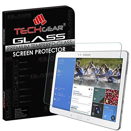 TECHGEAR Panzerglas für Galaxy Tab Pro 10,1 Zoll (SM-T520 / SM-T525) - Panzerglasfolie Anti-Kratzer Schutzabdeckung kompatibel mit Samsung Galaxy Tab Pro 10,1 Zoll