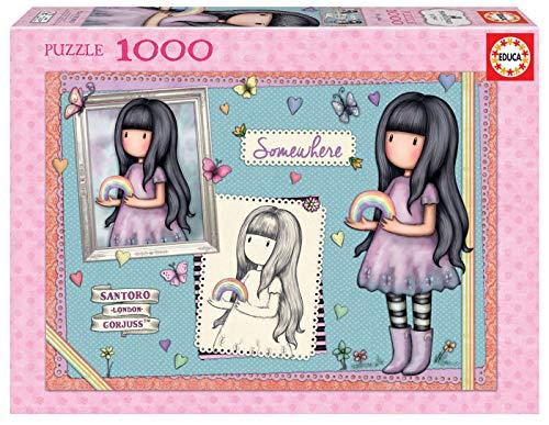Educa Borras - Serie Santoro Gorjuss, Puzzle 1.000 piezas So