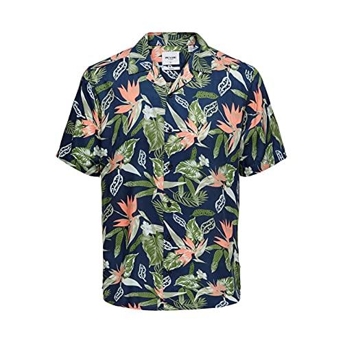 Only & Sons Onsklopp Life SS AOP Viscose Shirt Noos Camisa para Hombre