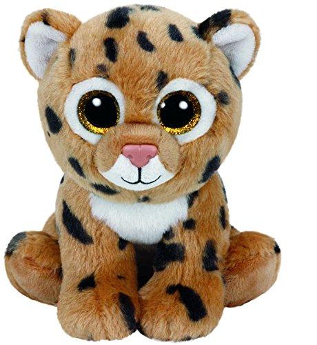 Carletto Ty 42120 - Freckles - Leopard mit Glitzeraugen, Beanie Babies, 15 cm