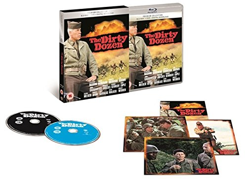The Dirty Dozen + The Dirty Dozen Next Mission Bluray +Dvd + digital Download UK Exclusive The Premium Collection Region Free