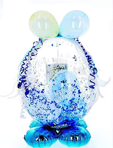 Jessis Geschenkeschmiede Befüllter Geschenkballon - das ideale Geschenk; Standard-Version für Geburtstag, Hochzeit, Baby etc.