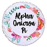 Sorority Shop Alpha Omicron Pi - Fringe Towel - Blanket