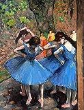 Vestido azul bailarina - Madera Puzzle 1500 Piezas Adultos Ocio Diy Toys Decoracion