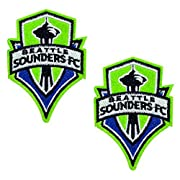 The generous size and Exquisite Pattern will make any plain item stand out! Material: 100% Superb Quality Detailed Embroidery, More Durable, Easy Wash & Remove. Seattle Sounders Football Club embroidered patches can be used for decorative purposes or...