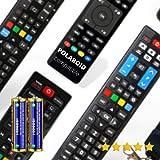 Polaroid - Mando A Distancia TELEVISIÓN Polaroid + Pilas - Mando TELEVISOR Polaroid Mando A Distancia para Polaroid TV - Compatible Todas Las Funciones Polaroid TV