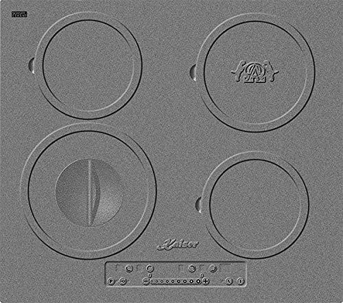Kaiser KCT 6705 I Induktions Kochfeld Autark 60cm,Motiv - Design des Gusseisenkochfeldes,4 Kochzonen, PowerBooster, Induktion,Glaskeramikkochfeld,Induktion,Einbaukochfeld,ohne Rahmen,Einbau Herd