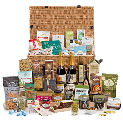 Hay Hampers Alcohol-Free Veritable Feast Large Gift Hamper Basket - Free UK Delivery