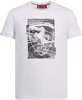 Branded Sports Merchandising B.V. Scuderia Ferrari Men's F1 White Shield T-Shirt