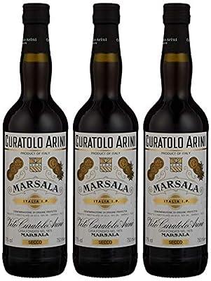 Curatolo Arini Fine Non Vintage Marsala Wine, 75 cl (Case of 3)