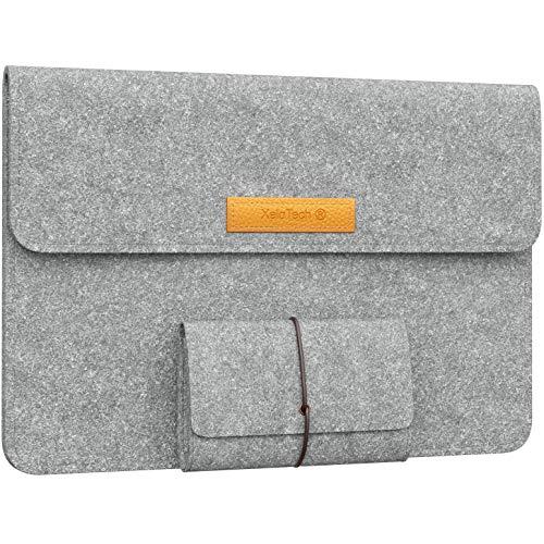 XeloTech Edle Filztasche für iPad Pro 12.9 Zoll oder MacBook Air 13
