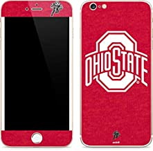 Skinit Decal Phone Skin for iPhone 6/6s Plus - Officially Licensed Ohio State University OSU Ohio State Buckeyes Red Logo Design
