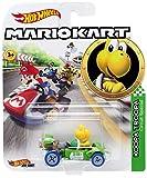 Hot Wheels Yellow Koopa Troopa Mariokart Character Car Diecast 1:64 Scale