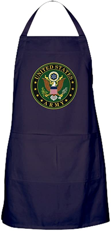 CafePress U S Army Symbol Kitchen Apron With Pockets Grilling Apron Baking Apron